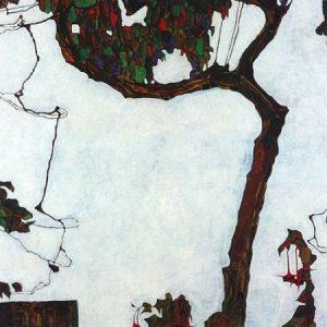 Autumn Tree With Fuchsias 1909