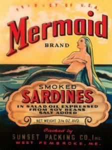 Mermaid Brand Smoked Sardines