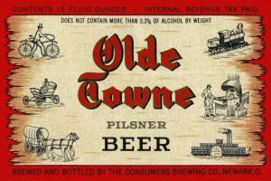 Olde Towne Pilsner Beer