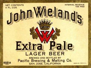 John Wielands Extra Pale Lager Beer