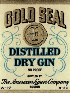 Gold Seal Distiller Dry Gin