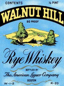 Walnut Hill Rye Whiskey