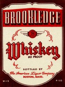 Brookledge Whiskey
