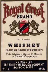 Royal Crest Brand Whiskey