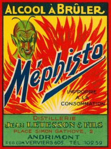Mephisto – Alcool A Bruler