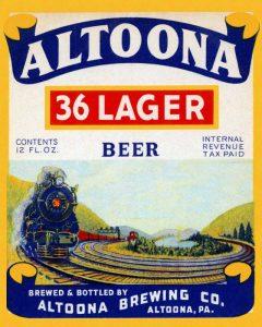 Altoona 36 Lager Beer