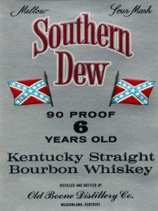 Southern Dew Kentucky Straight Bourbon Whiskey