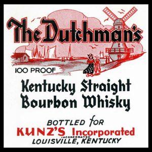 The Dutchmans Kentucky Straight Bourbon Whiskey
