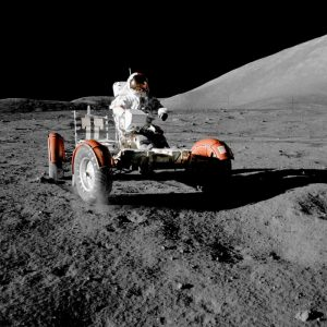 Lunar Roving Vehicle, Apollo 17, 1972