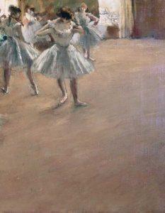 Danseuses Montant Un Escalier – right
