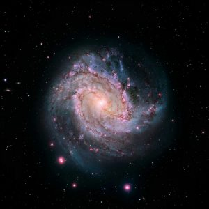 M83 – Spiral Galaxy – Hubble-Magellan Composite