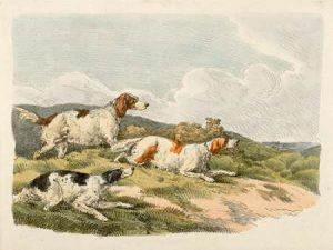 Running Hounds, 1817