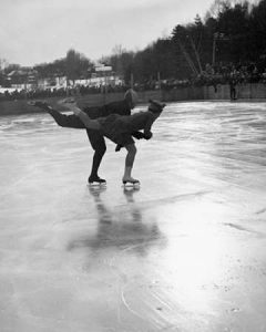 Winter Sports, Figure Skating. Hanover, New Hampshire, 1936