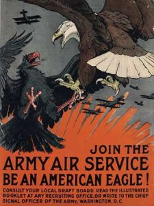 Join the Army Air Service, Be an American Eagle, ca. 1917