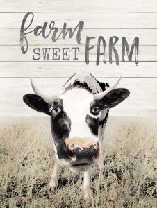 Farm Sweet Farm Cow