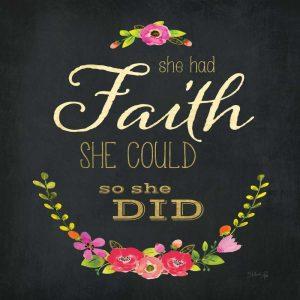She Had Faith