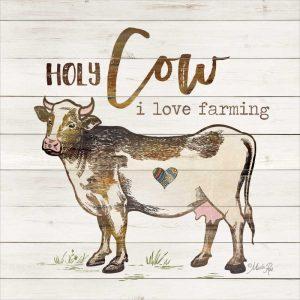 Holy Cow I Love Farming