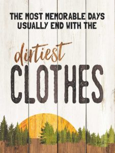 The Dirtiest Clothes