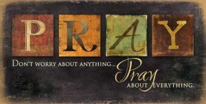 Pray – Dont Worry