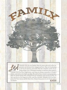 Family Prayer Tree