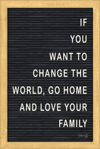 Love Your Family Felt Board