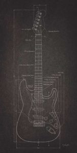 Electric Guitar Blueprint