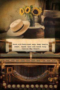 Old-Fashioned Ways
