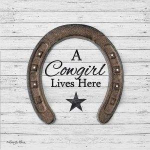 A Cowgirl Lives Here