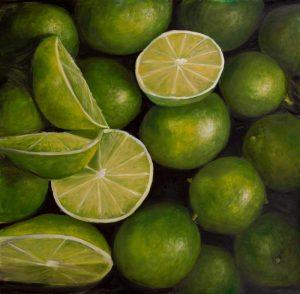 Basket of Limes Fruit