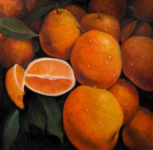 Basket of Oranges Fruit