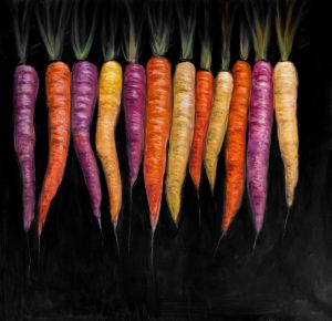 Colorful Carrots Vegetable