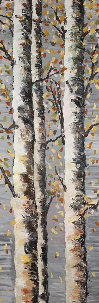 Blossoming Birches