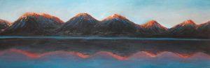 Mountains and Calm Lake