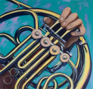 Musicien with French Horn