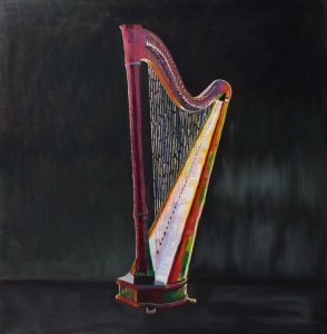 Colorful Realistic Harp
