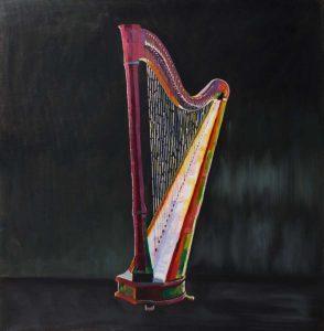 Colorful Realistic Harp