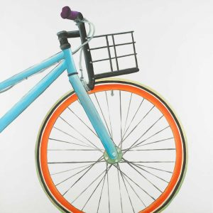 Front Wheel of Bicycle