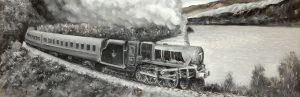 Vintage Locomotive Passenger