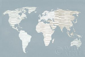 Calm World Map