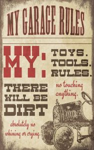 My Garage Rules