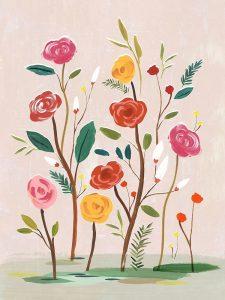 Pink Efflorescence