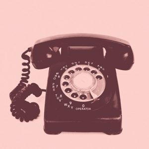 Old Phone Pink