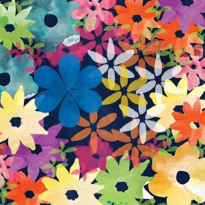 Crowded Flowers I