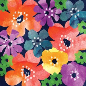 Crowded Flowers IV