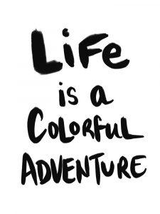 Colorful Adventure – Black