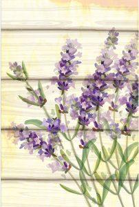 Floral Lavender I