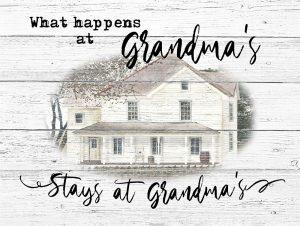 Stays at Grandmas
