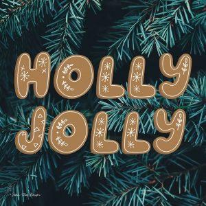 Gingerbread Holly Jolly