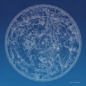 Constellations Map I