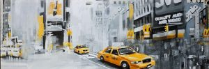 NEW-YORK CITY WITH TAXIS